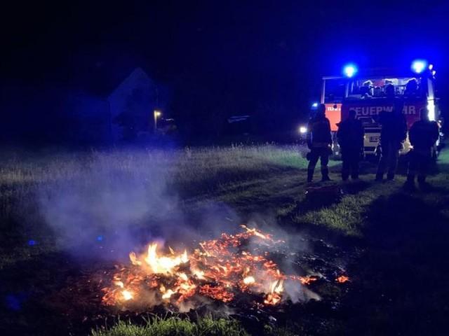 Verbotene Abbrandarbeiten sorgten in Krems für Feuerwehreinsatz
