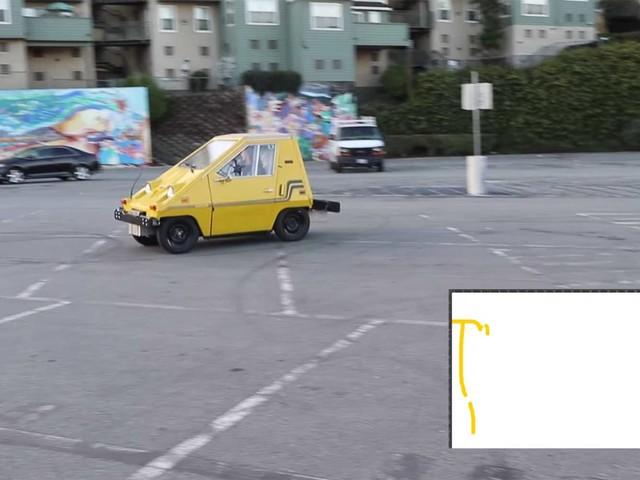 Ein Auto als Computermaus nutzen