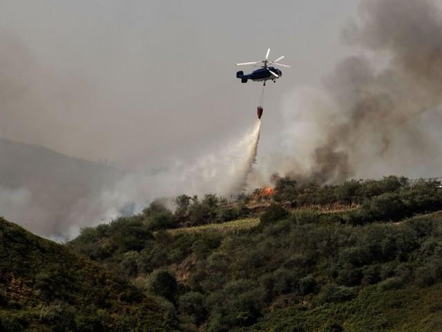 Gran Canaria: Feuerwehr bekommt Waldbrand unter Kontrolle