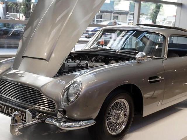 Auktion im kalifornischen Monterey - Bonds legendärer Aston Martin für über 6 Millionen Dollar versteigert