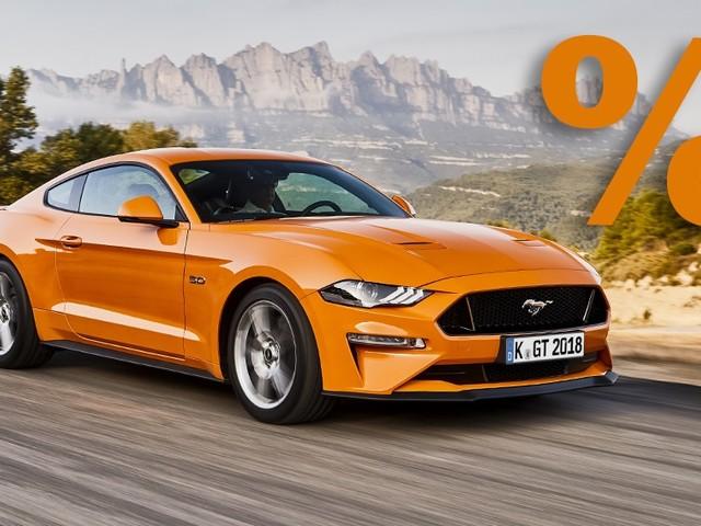 Ford Mustang (2021): Rabatt, Automatik, Preis, GT Den Ford Mustang mit einem Nachlass von bis zu 8184 Euro kaufen