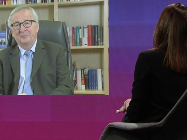 """Juncker in ORF-Talk: """"Gespritzt wird, was zur Verfügung steht"""""""