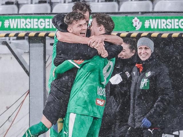 Hochrechnung: WSG Tirol spielt um den Europacup, Ried steigt ab