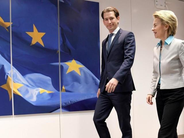 Kurz in Brüssel: Rückkehr des konservativen Darlings