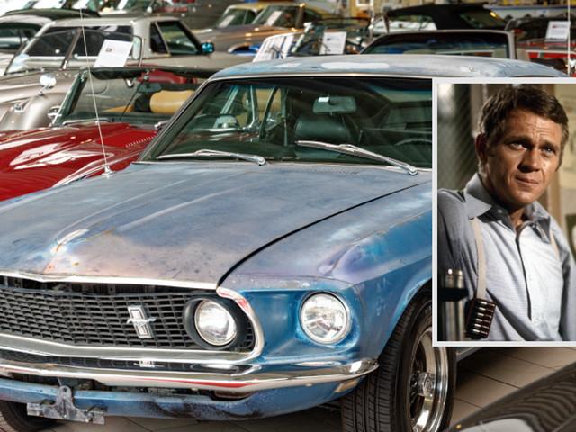 """""""Geile Karre"""": Deutscher Händler verkauft Privatwagen von Hollywood-Legende Steve McQueen"""