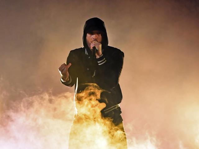 Eminem vergleicht sich auf neuem Song mit Manchester-Terror-Bomber