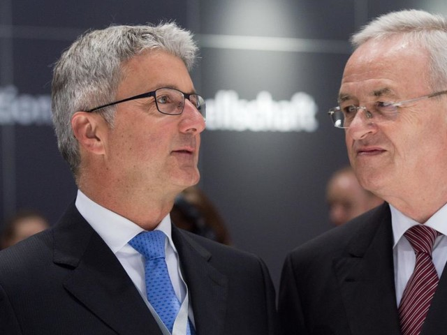 Frühere VW-Manager Winterkorn und Stadler zahlen Millionensumme