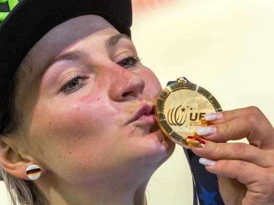 Sprint-Queen Vogel rast zum Titel - sechs deutsche Medaillen