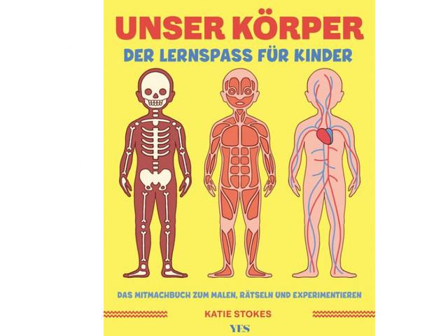 """Jetzt gewinnen: """"Unser Körper"""", ein Lernspaß-Buch für Kinder"""