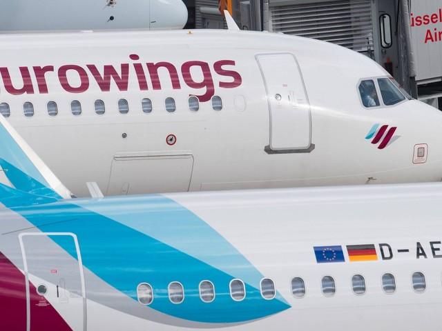 Am Flughafen Berlin Tegel landet Flugzeug mit Verletzten