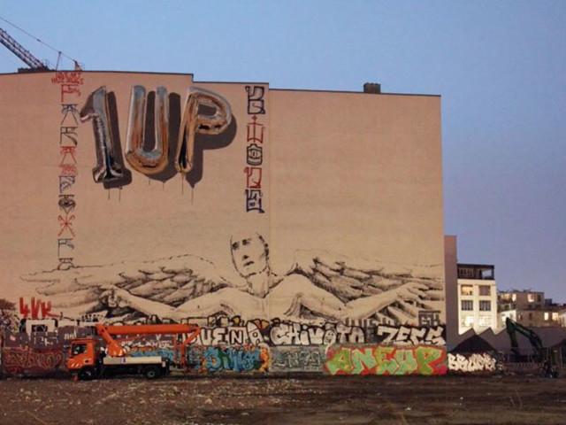 FANAKAPAN x 1UP Bubble-Tag in Berlin Kreuzberg