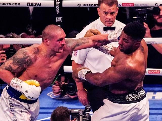 Neuer Schwergewichtskönig: Usyk entthront Box-Superstar Joshua