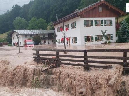 Hilfskräfte in Oberbayern wegen Hochwassers im Dauereinsatz