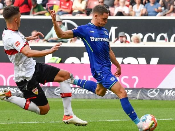 Fußball: Wirtz führt Bayer Leverkusen zum 3:1-Erfolg in Stuttgart