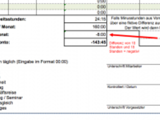 Excel Vorlage für eine kostenlose Arbeitszeiterfassung   Excel Vorlagen für jeden Zweck