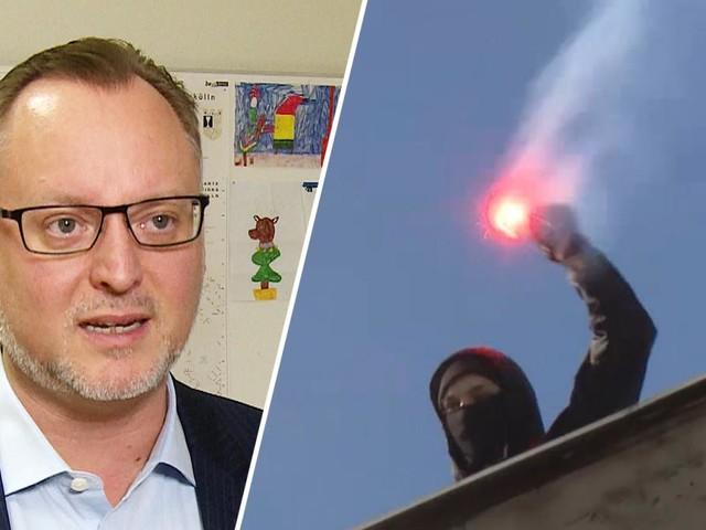 Neuköllns Vizebürgermeister legt sich mit linksextremer Schlägertruppe an