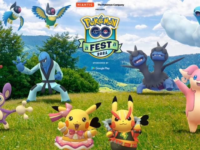 Pokémon GO Fest 2021: Musikalisches Festival-Thema, gesenkter Preis und weitere Details