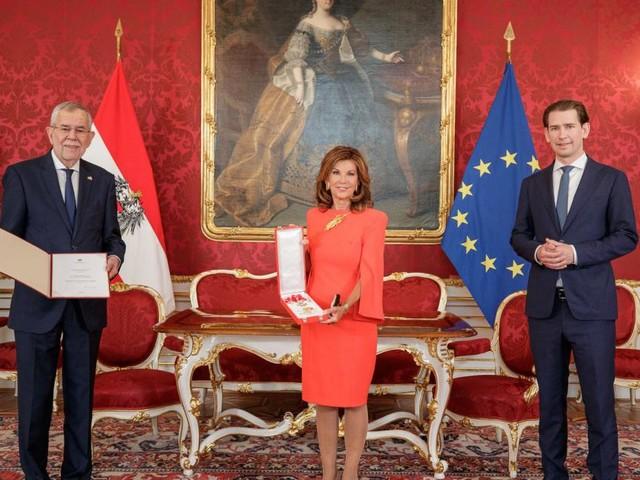 Ex-Kanzlerin Bierlein erhielt höchsten Orden der Republik