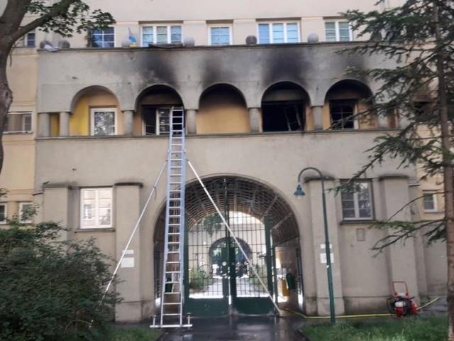 Wien-Favoriten: Wohnung in Gemeindebau stand in Flammen