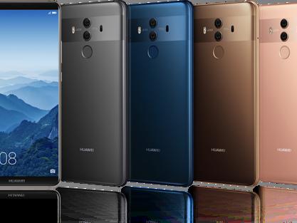 Neues Huawei Mate10 Pro setzt voll auf künstliche Intelligenz und Leica-Kamera
