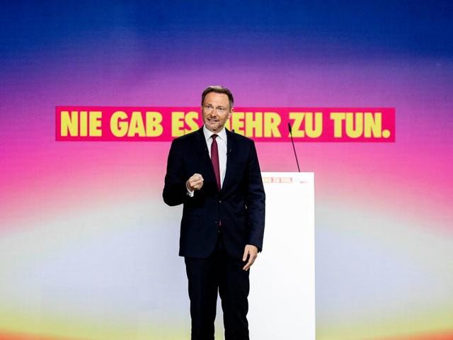 FDP: Christian Lindner als Vorsitzender wiedergewählt