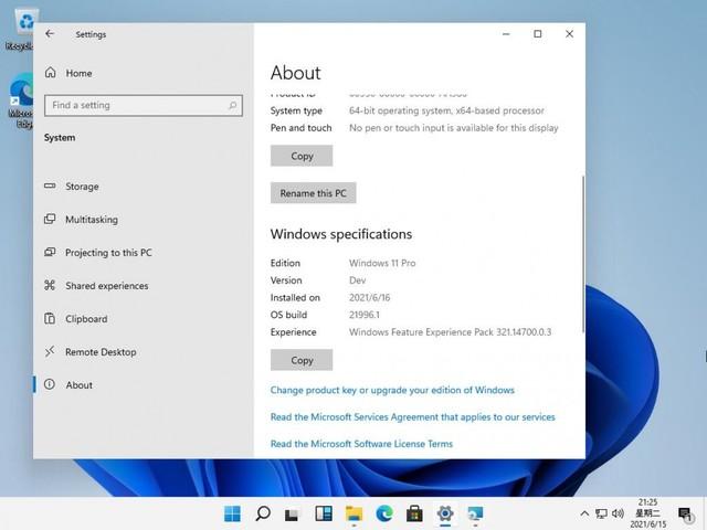Hier sind die ersten Bilder von Windows 11