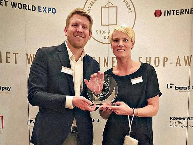 """Internet World Business Shop-Award: Bonprix ist """"Bester Markenshop"""""""