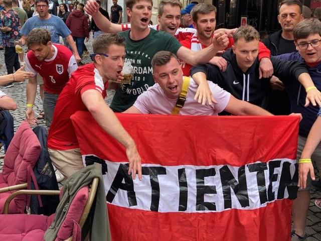 Gurgeltest in Rot-Weiß-Rot: Wie die ÖFB-Fans bei der EURO feiern