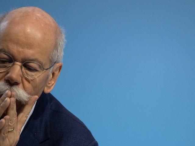 Gewinneinbruch bei Daimler: Zetsche verdient 1,7 Millionen Euro weniger