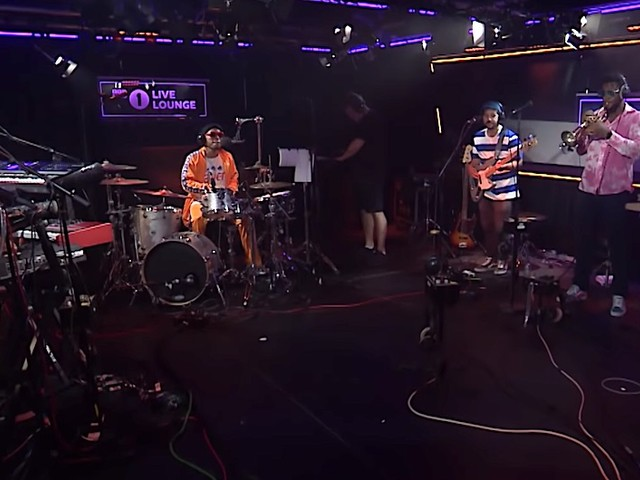 "BBC presents: Anderson .Paak – ""Old Town Road"" in the Live Lounge // Full Stream"