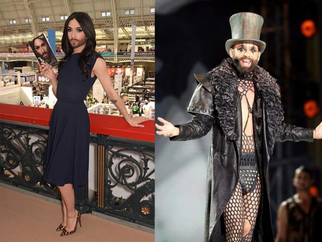 Von schillernd bis düster und zurück : Die krasse Style-Evolution von Conchita Wurst