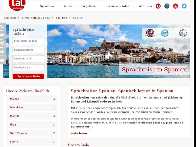 Sprachreisen Spanien   LAL Sprachreisen
