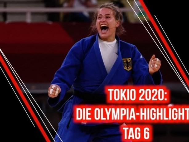 Tag 6: Die Olympia-Highlights aus Tokio