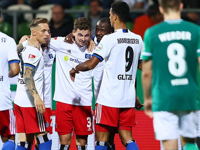 2. Bundesliga: Rote Karten, Regel-Ärger, Chancenwucher! HSV gewinnt irres Derby gegen Werder