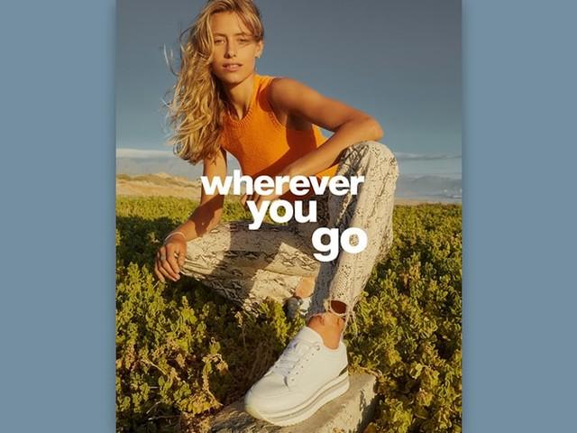 """""""WHEREVER YOU GO"""" – die neue Dachmarken-Kampagne von DEICHMANN feiert das Leben in all seinen Facetten"""