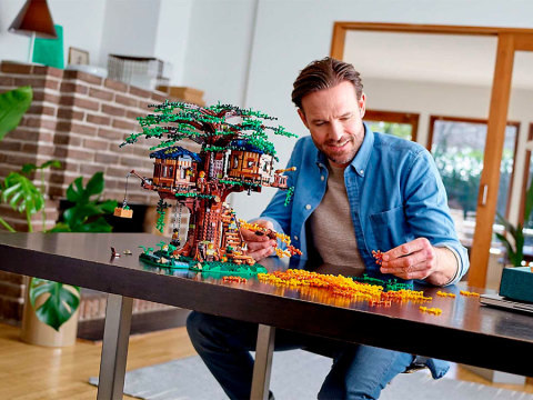 Lego für Erwachsene: Die schönsten Ü18-Sets zum Bauen und Aufstellen
