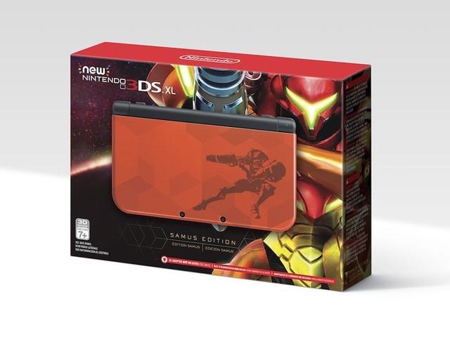 Nintendo kündigt Sonderedition des New 3DS XL für Metroid an