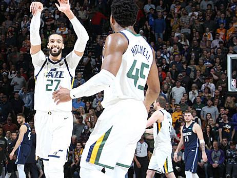 NBA: Monster-Block in der Crunchtime! Überragender Gobert zu viel für Doncic und die Mavs