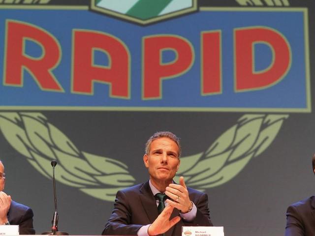 Neuer Rapid-Präsident? Martin Bruckner ist der Favorit