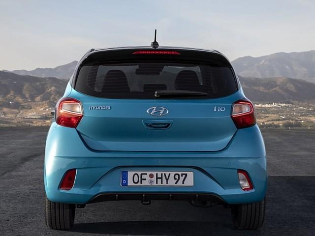 Hyundai i10 1.2: Smart anders