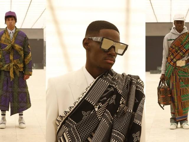 Virgil Abloh setzt auf einen traditionellen Stoff aus Afrika: Kente