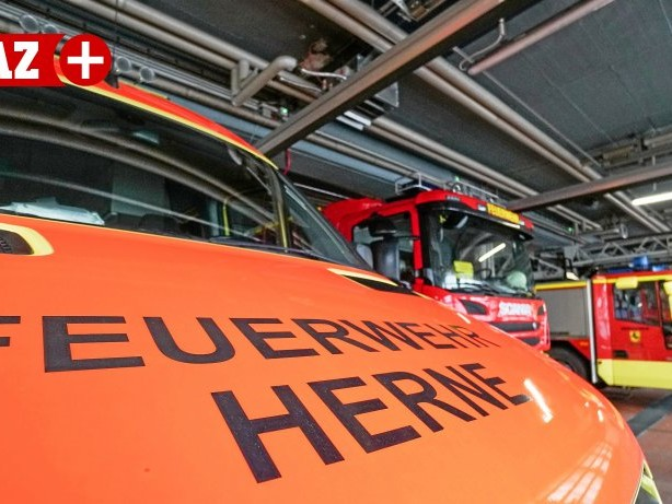 Unfall: Herner Feuerwehr rückt zu Unfall auf der Sodinger Straße aus