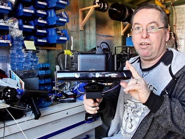 Geisterjäger nutzt Microsofts Kinect für seine Arbeit