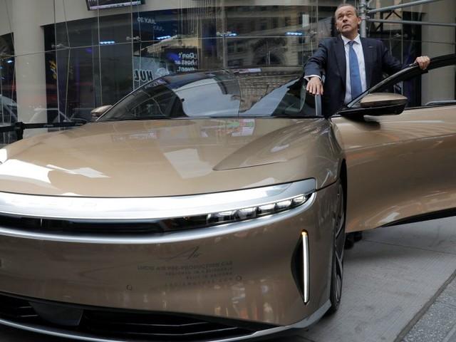 Reichweitenrekord: E-Limousine Lucid Air kommt auf über 800 Kilometer