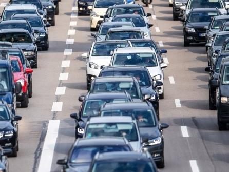 Viel Verkehr am Wochenende