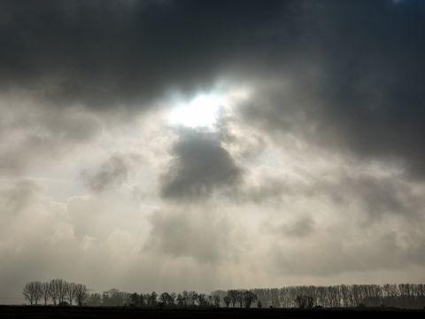 Sonne, Wolken und etwas Regen am Wochenende