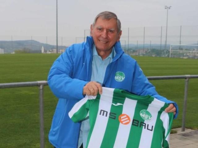 Mit ihm kommt in Mattersburg der Fußball ins Rollen