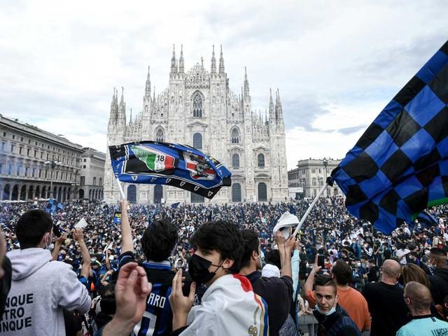 Serie A: Polizei stoppt Inters Scudetto-Party