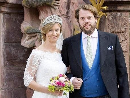 Prinzessin Viktoria und Erbprinz Ferdinand sagen Ja