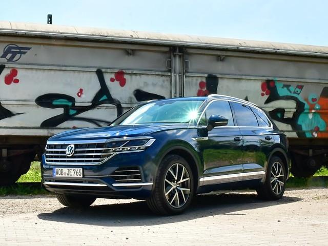 Premium-SUV nicht zum Volkspreis: VW Touareg - Diesel-Trumm im Praxistest